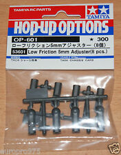 Tamiya 53601 Low Friction 5mm Adjuster (8 Pcs.) (TRF416/TRF417/TRF418/TRF419)
