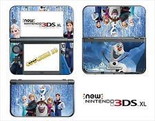 HAUT STICKER AUFKLEBER - NINTENDO NEU 3DS XL - REF 193 FROZEN