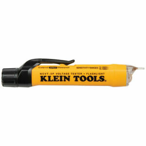 Klein Tools NCVT3P Dual Range Non-Contact Voltage Tester with Flashlight