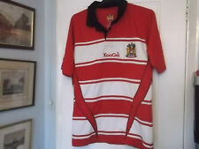 WIGAN WARRIORS HOME RUGBY LEAGUE SHIRT MEDIUM SIZE KOOGA MAKE