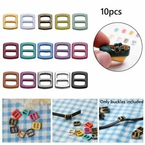 Doll Bags Accessories Diy Dolls Buckles Tri-glide Buckle Belt Buttons