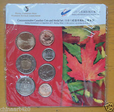 319/500 Commemorative Canada Coin & Medal, Beijing International Coin Expo.2011