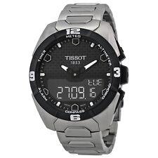 Tissot T-Touch Expert Solar Black Dial Titanium Mens Watch T0914204405100