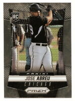 2014 PANINI PRIZM JOSE ABREU ROOKIE CARD RC #199 (CHICAGO WHITE SOX)