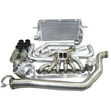 Top Mount Turbo Intercooler Kit For 1986-1992 Toyota Supra MK3 7MGTE