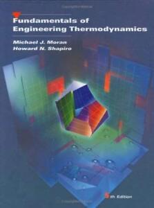 Fundamentals Of Engineering Thermodynamics - by Moran
