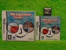 ds MY JAPANESE COACH Learn To Speak Japanese DSi Lite 3DS PAL UK Version