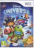 Nintendo Wii «DISNEY UNIVERSE» nuovo sigillato italiano pal