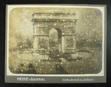 Photographie c1920 céramonie ihommage protocole visite officiel Arc de triomphe