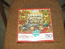 ELMER AND LORETTA ~ THE CATS OF CHARLES WYSOCKI ~ 750 PIECE BUFFALO PUZZLE