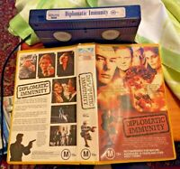 DIPLOMATIC IMMUNITY - BRUCE BOXLEITNER, BILLY DRAGO - 1991 VHS VIDEO