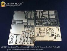 Griffon 1/35 #L35A054 Gun Shields for 2cm Flakvierling 38