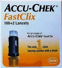 ACCU-CHEX FastClix 100+2 Lancets dated 2021 - 09 NIB