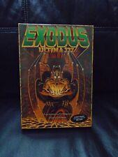 Exodus Ultima 3 III, 1983 in box For Commodore 64 And Atari, complete, Rare!