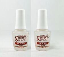 Harmony Gelish Nail Prep pH Bond 0.5 oz / 15 ml x 2 + Free Shipping