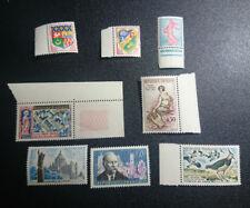 lot de 8  timbres de France- classiques - neufs -1960-TTBE-