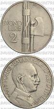 02147] REGNO ITALIA - VITTORIO EMANUELE III - BUONO DA 2 LIRE 1925