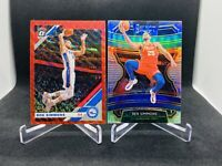 2019-20 Optic Ben Simmons Tmall Red & Select Concourse Silver Prizm Holo 76ers