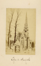 Brest, Pepin, Eglise de Plougastel albumen vintage print Tirage albuminé  10