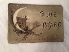 Colman's Mustard Christmas Miniature Book - BLUE BEARD - Chromolithograph, 1880s