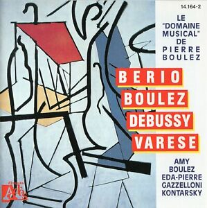 """Le """"Domaine Musical"""" de Pierre Boulez"""