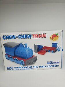 New Urban Trend Kids Funwares Chew Chew Train Child's / Boys Dinnerware Set