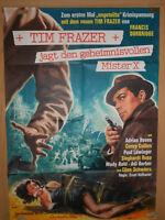 Tim Frazer jagt den geheimnisvollen Mister X Filmplakat 60x80cm gefaltet
