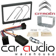Citroen C3 2002-2005 RD3 Car Stereo Fascia Panel & Steering Wheel Interface Kit