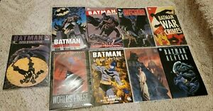 Batman Graphic Novel TPB Lot of 9 All Brand New Unread 1st Printings Some Rares
