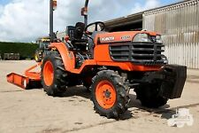Kubota B1700 - B2100 - B2400 Tractors Workshop Manual