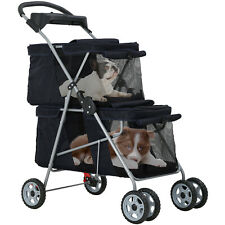 Dog Stroller Cat Stroller Pet Carriers Bag Jogger Stroller for Small Medium Dogs