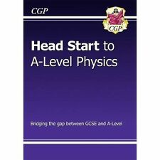 New Head Start to A-Level Physics by CGP Books (Paperback, 2015)