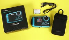 ** EXCELLENT ** Fujifilm Finepix XP140 16.4MP Point & Shoot Camera - Sky Blue