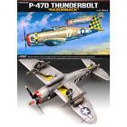 ACADEMY #12492 1/72 Plastic Model Kit P-47D RAZORBACK