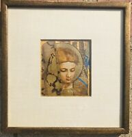 St Elizabeth Vintage Mid Century Artwork Rare Estate Sale Find