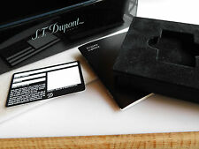 S.T. Dupont Limited Edt. Lighter L2 TSUBA Frederic Krill 016963 ONLY THE BOX