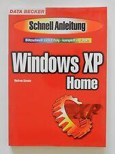 Windows XP Home Wolfram Giesecke blitzschnell zum Erfolg