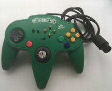 N64 competencia Pro control Pad Turbo/Auto Nintendo 64 Verde Raro Pad