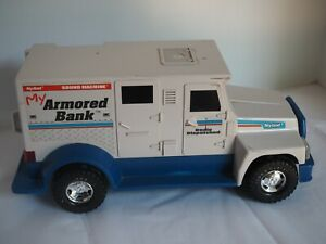 Nylint My Armored Car BANK Sound Machine Talking Electronic 1994 - For Parts