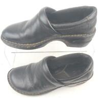 Born Concept Black Mule Clogs Slip Ons BC3632 Womens Nurse 8W