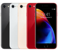 Apple iPhone 8 64GB 256GB AT&T T-Mobile Sprint Verizon GSM Unlocked ALL COLORS!