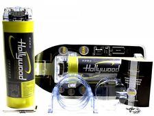 Hollywood HCM 1 Farad Powercap 1F Kondensator ELKO CAP Car Hifi inkl. Zubehör!!!