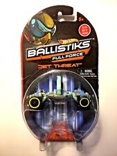New Hot Wheels Ballistiks Full Force Jet Threat Vehicle Transforms 2012
