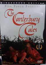 The Canterbury Tales USA DVD 1972 Pier Paulo Pasolini Rare OOP SnapCase GD fr/sh