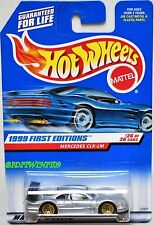 HOT WHEELS 1999 FIRST EDITIONS MERCEDES CLK-LM #26/26 SILVER