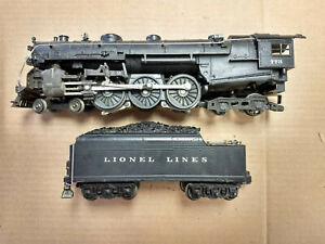 LIONEL 1950 HUDSON Steam Locomotive 773 Whistle Tender 2426W LIONEL LINES *RARE*