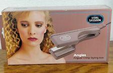 Vintage Vidal Sassoon Angles Angular Crimp Styling Iron NIB NOS Model VS-152