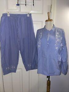 Cabernet Sleepwear Size Large PJ Pajama set
