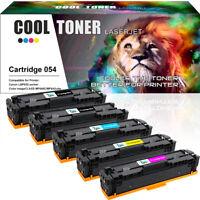 5 Pack for Canon 054 Toner Cartridge imageClASS MF644cdw MF645C MF642cdw LBP620
