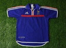 FRANCE NATIONAL TEAM 2000-2002 FOOTBALL SHIRT JERSEY HOME ADIDAS ORIGINAL YOUNG